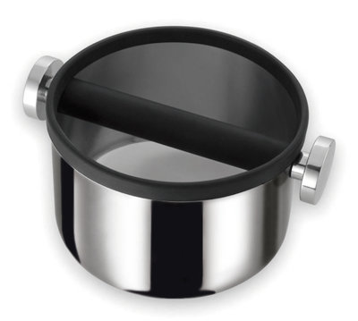 Motta Uitklopbak Zwart/Zilver 165MM