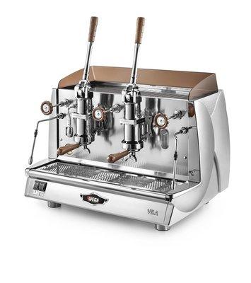 Wega Vela Vintage ALE semi-automatische koffiemachine met hefboomgroepen