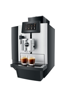 Jura X10 Platin Koffiemachine Zijkant