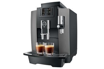 Jura WE8 Dark Inox Koffiemachine