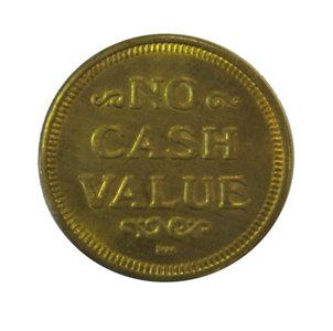 Token voor muntmechanisme / wisselaar