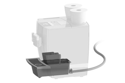 Jura Set afvoer koffieresidu/restwater voor GIGA X8cG2/X8G2